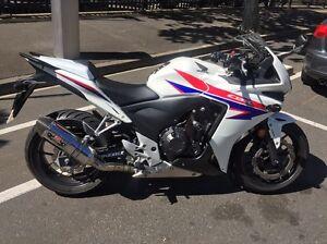 Honda CBR500a 2013 L-approved Darlinghurst Inner Sydney Preview