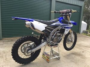 12500 NEGOTIABLE  WR 450F ... 2016 10 hrs .  registered Jilliby Wyong Area Preview