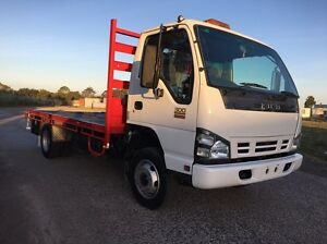 2006 Isuzu NPR300 Tray with Crane Hadfield Moreland Area Preview