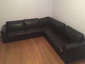 Leather Corner Lounge Smeaton Grange Camden Area Preview