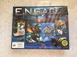 ENGAGE FLIGHT STIMULATOR COMPUTER PC GAMES BOX SET NEW SEALED Kogarah Rockdale Area Preview