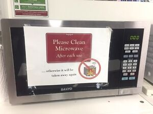 Sanyo Microwave Oven Macquarie Park Ryde Area Preview