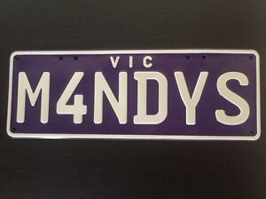 Personalized plates for sale Melbourne CBD Melbourne City Preview