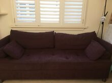 Freedom 3 Seater Sofa / Lounge and 2 Ottomans Naremburn Willoughby Area Preview