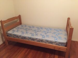 Single bed with mattress Blacktown Blacktown Area Preview