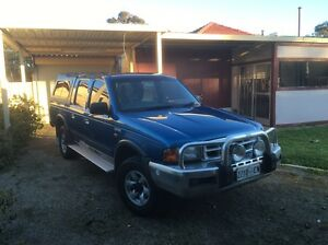 2000 Ford Courier XLT 4x4 Dual Cab Wagin Wagin Area Preview