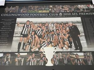 Limited Edition! Collingwood Football Club 2010 AFL Premiers Frame South Morang Whittlesea Area Preview