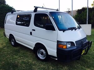 Toyota Hiace Van/Minivan 2001 Manual Kellyville The Hills District Preview
