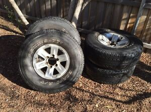 285/75R16 MAXXIS BRAVO A/T 4WD Tyres Nissan Patrol GU Kingston South Canberra Preview