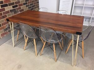 Stylish dining table and chairs for 6 Woolloomooloo Inner Sydney Preview