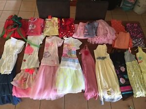 Size 6 (some 7's) girls winter/summer clothing bundle. Redbank Plains Ipswich City Preview