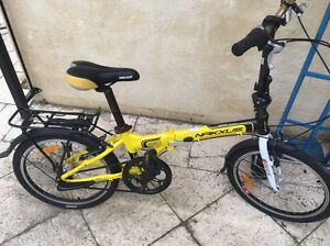 Nakxus fold up 3 speed push bike. Canning Vale Canning Area Preview