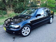 BMW 318i E46 2002 Sedan Auto Black Very Low Klms Kellyville The Hills District Preview