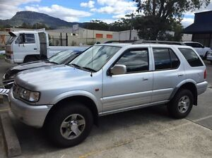 Holden frontera 2002 Wollongong Wollongong Area Preview