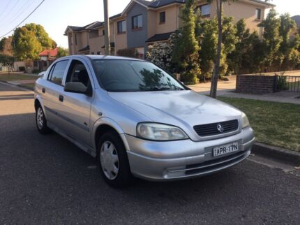 2001 Holden Astra CITY Manual Low Kms 4months rego