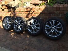 HOLDEN ASTRA TWIN TOP WHEELS RIMS Menai Sutherland Area Preview