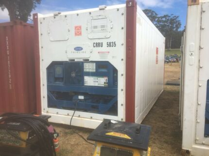 20 foot refrigerated sea container