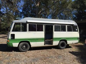 Toyota Coaster Motorhome Bus Terara Nowra-Bomaderry Preview