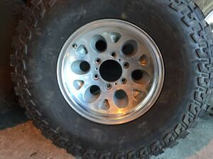 "15"" x7 polished wheels 6 139.7 USA 32"" muds Waterford Logan Area Preview"