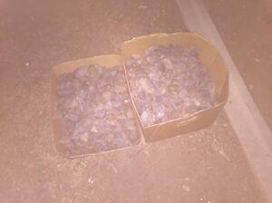 2 big boxes of pebbles Merrimac Gold Coast City Preview