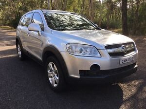 HOLDEN CAPTIVA MANUAL 2008 TURBO DIESEL 5 SEATER 17/8/2017 REGO Campbelltown Campbelltown Area Preview