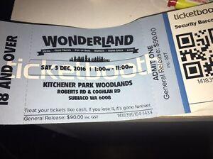 Wonderland Ticket Westminster Stirling Area Preview