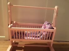Doll's cradle and bedding West Albury Albury Area Preview