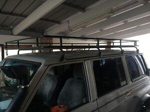 Gq patrol ford maverick roof rack steel Diamond Creek Nillumbik Area Preview