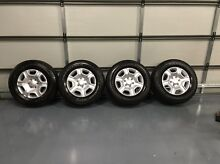 Ford Ranger wheels and tyres Highfields Lake Macquarie Area Preview