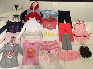 Little Girls Clothing Bundle - Size 4 Doubleview Stirling Area Preview