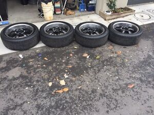"22"" Rim with tyres Maidstone Maribyrnong Area Preview"