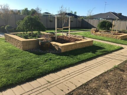 Mowing and gardening