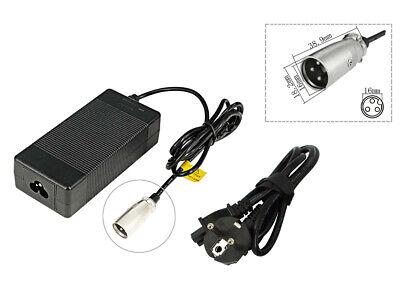 2,0A Cargador Batería para El Bicicleta Eléctrica Pedelec 24V Con 3-Pin Enchufe