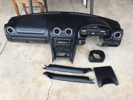 MAZDA Mx5 NB Dash CONVERSION PAD bits Na button Dials Surround sw