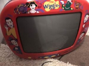 The wiggles tv great for DVD or games in kids room Willmot Blacktown Area Preview