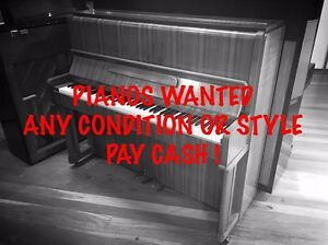 PIANOS WANTED - CASH PAID! Norwood Norwood Area Preview