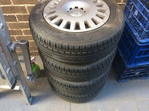 Holden Astra Tyres with Rims (New Like) Kellyville The Hills District Preview