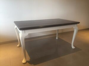 Refurbished French provincial style table Windsor Stonnington Area Preview