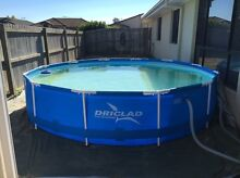 12' steel frame pool. Bray Park Pine Rivers Area Preview