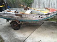 11 ft/3.3m Tinny, trailer and parts Camp Hill Brisbane South East Preview