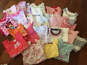 Baby girls summer tops size 000 Coogee Cockburn Area Preview