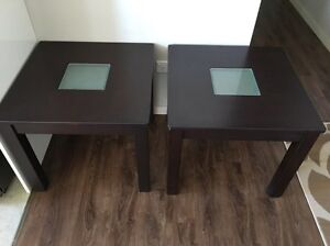 2 wooden side tables Burwood Heights Burwood Area Preview