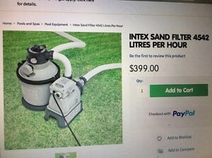 Pool pump and sand filter Angaston Barossa Area Preview