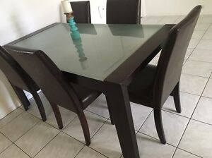 Matching dining, hall and coffee table with 5 chairs Muswellbrook Muswellbrook Area Preview