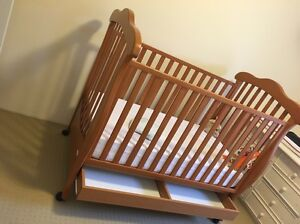 Cot with mattress Osborne Park Stirling Area Preview