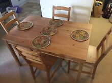 Ikea table + 4 chairs. Perfect condition Summer Hill Ashfield Area Preview