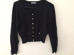 Hot options crop cardigan size 12 Birkdale Redland Area Preview