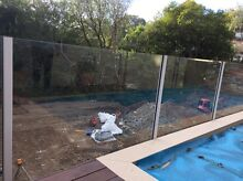 Glass pool fencing and posts Paddington Brisbane North West Preview