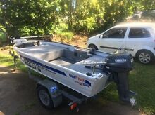Quintrex 350 traveller Yamaha 25hp Tewantin Noosa Area Preview