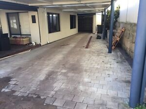Light grey pavers with dark border Tapping Wanneroo Area Preview